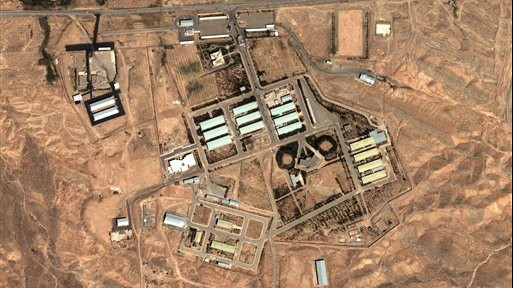 This 2004 satellite image provided by DigitalGlobe and the Institute for Science and International Security shows the military complex at Parchin, Iran, 30 km (about 19 miles) southeast of Tehran. (photo credit: AP Photo/DigitalGlobe - Institute for Science and International Security)