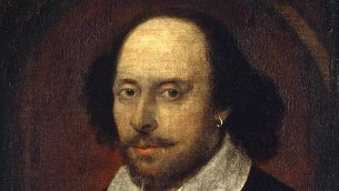 William Shakespeare (photo credit: John Taylor, National Portrait Gallery, Wikimedia Commons)