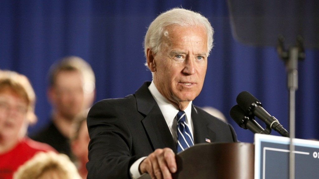 US Vice President Joe Biden (photo credit: AP/Madalyn Ruggiero)