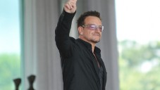 U2 lead singer Bono in Brazil, 2011 (photo credit: Creative Commons - CC BY, Agência Brasil, a public Brazilian news agency)