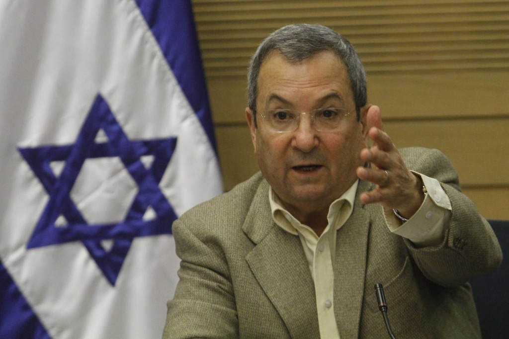 Ehud Barak Only the government will decide on Iran strike defense