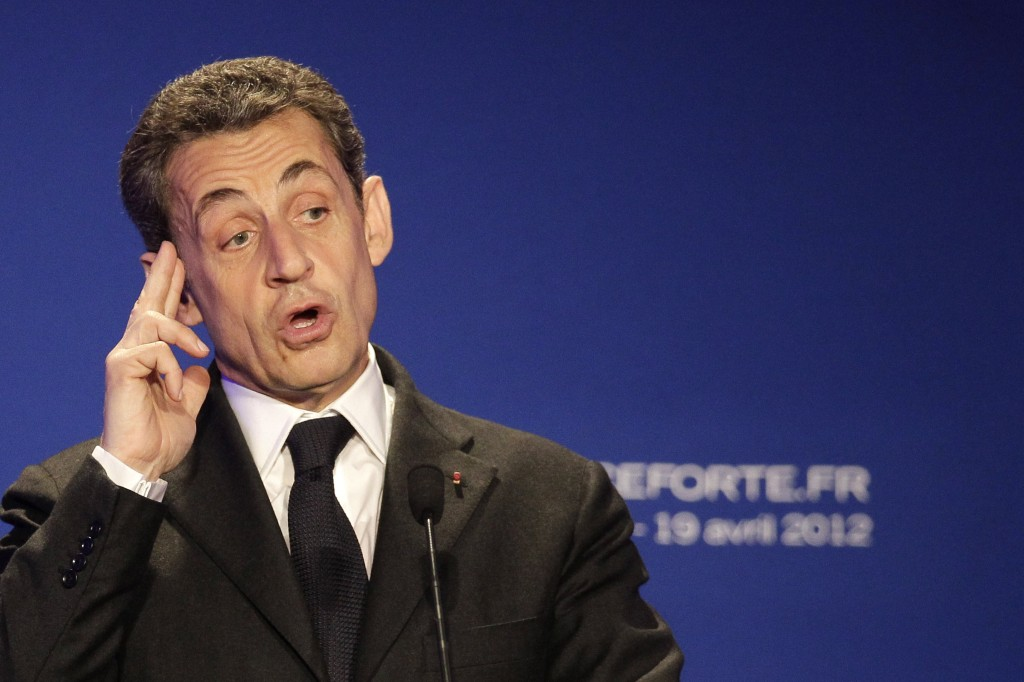 French President Nicolas Sarkozy (photo credit: Michel Euler/AP)