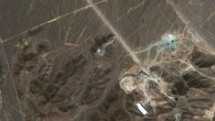 A satellite image of Iran&#039;s Fordo uranium enrichment facility (photo credit: AP/DigitalGlobe)