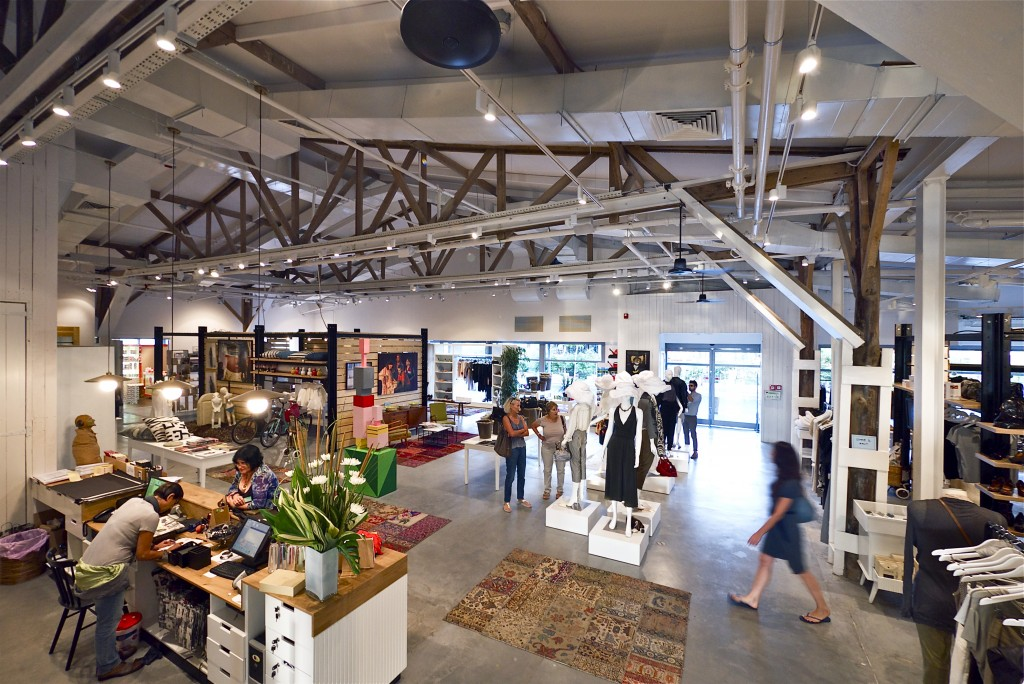 Comme Il Faut's flagship store at the Tel Aviv port (photo credit: Courtesy, Itay Sikulski)