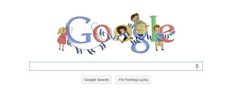 Google's Independence Day doodle