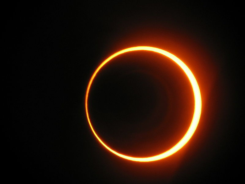 illustrative photo of a solar eclipse (photo credit: CC-BY-sancho_panza, Wikimedia Commons)