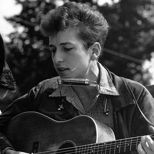 Bob Dylan (photo credit: US State Department, Wikimedia Commons)