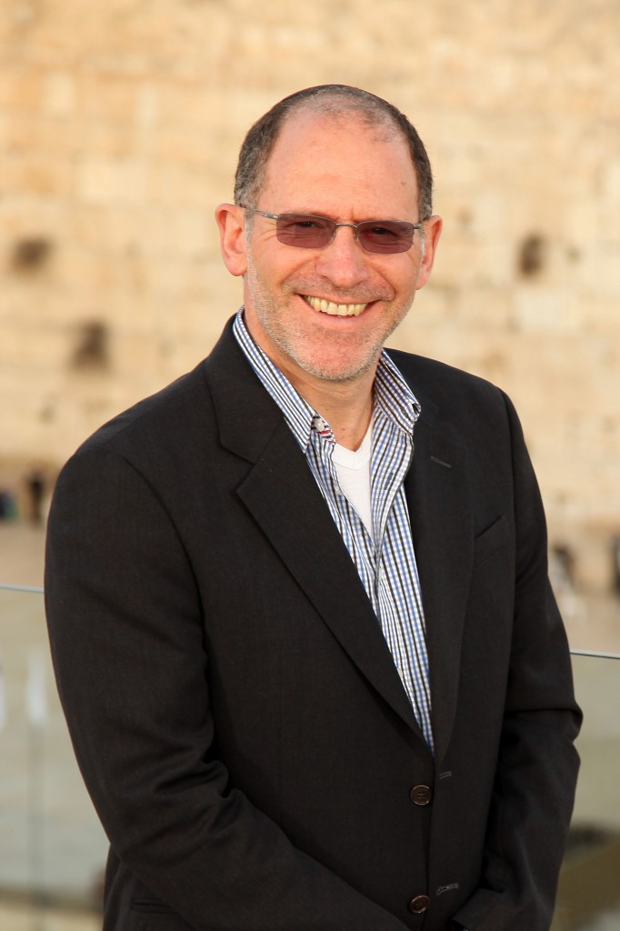 Australian technology and real estate investor Kevin Bermeister in Jerusalem (photo credit: Courtesy Kevin Burmeister)
