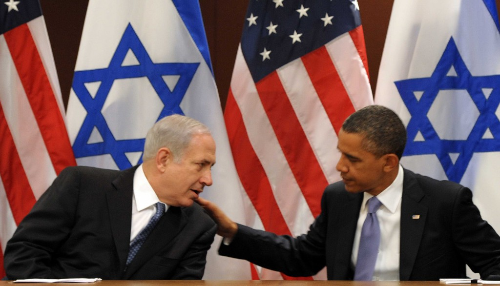 Benjamin Netanyahu with President Barack Obama (photo credit: Avi Ohayon/GPO/FLASH90)