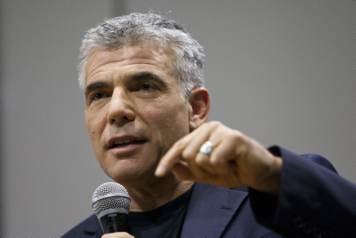 Yair Lapid (photo credit: Yonatan Sindel/Flash90)