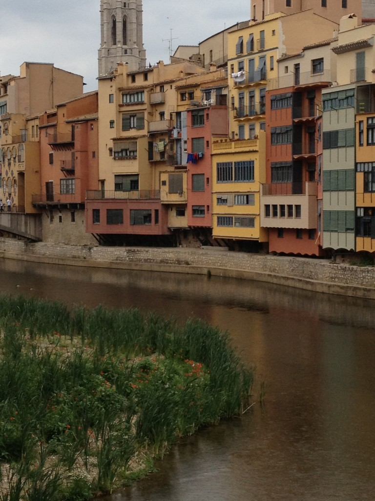 River view of Girona. (photo credit: Courtesy)