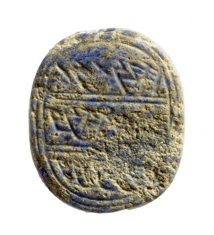 The seal belonged to a man named Matanyahu who lived at least 2,600 years ago (Courtesy of the Israel Antiquities Authority)