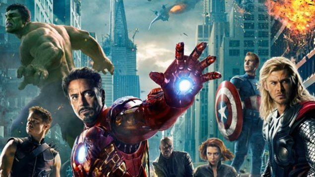"Marvel's latest blockbuster, ""The Avengers,"" pits a group of heroes against a would-be dictator from another world."
