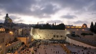 Jewish worshipers pray at the Western Wall in Jerusalem's Old City (photo credit: Matanya Tausig/Flash90)