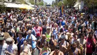Members of Israel's gay community participate the annual gay pride parade in Tel Aviv on Friday (photo credit: Dima Vazinovich/Flash 90)
