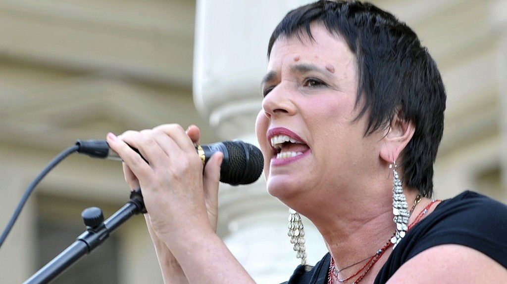 Eve Ensler, author of 'The Vagina Monologues,' speaks on June 18, 2012 ...