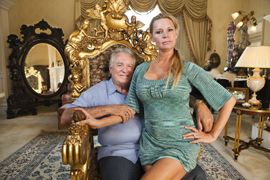 David and Jackie Siegel: not the typical intermarried couple.