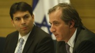France's ambassador to Israel Christophe Bigot speaks at a special hearing of the Knesset Immigrant Absorption Committee about extradition of those who killed Lee Zeitouni in Tel Aviv and fled to France. (photo credit: Uri Lenz/Flash90)