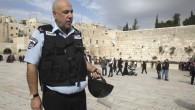 Jerusalem Police Commissioner Nissan &#039;Niso&#039; Shaham at the Western Wall plaza in Jerusalem&#039;s Old City in February. Shaham was ordered to take a leave of absence on July 26 and is being investigated by the Internal Affairs Bureau. (photo credit: Uri Lenz/Flash90)