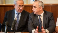 Prime Minister Benjamin Netanyahu (left) and Finance Minister Yuval Steinitz at the weekly government conference on Monday. (photo credit: Uri Lenz/Flash90)