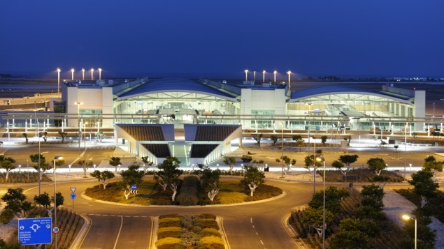 Larnaca International Airport, Cyprus (photo credit: CC BY Wikipedia)