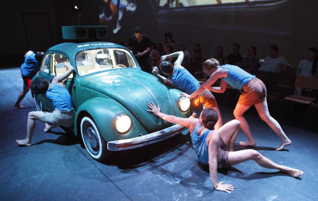 A VW bug in 'Hacking Wagner.' (Photo credit:  Wilfried Hsl)