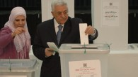 Mahmoud Abbas casts his ballot in the last elections to take place in the PA in 2006 (photo credit: Yossi Zamir/Flash90)