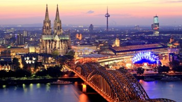 The city of Cologne. Jews have been living here as long as Christians