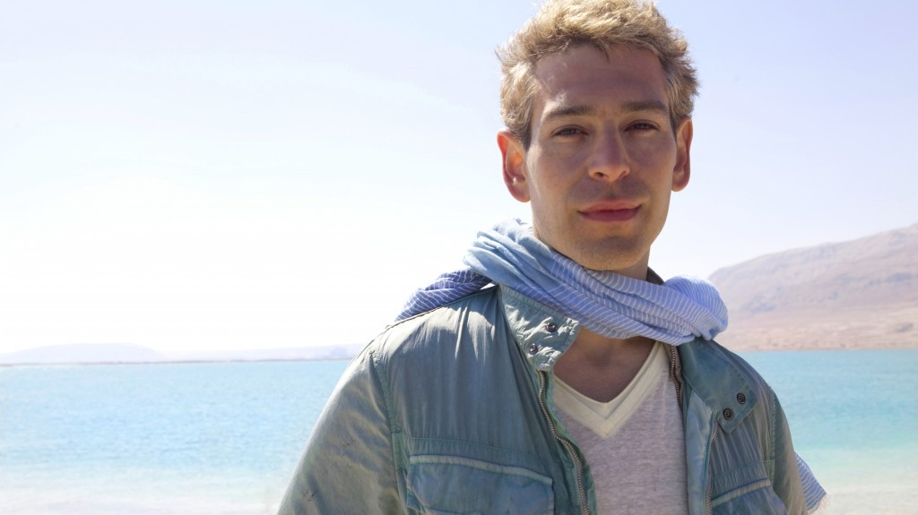 Matisyahu while filming in Israel. (photo credit: courtesy)