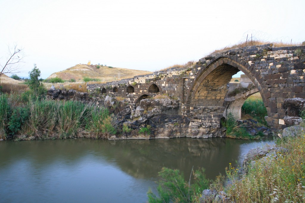 A bridge over the Jordan River (photo credit: Chen Leopold\flash90)