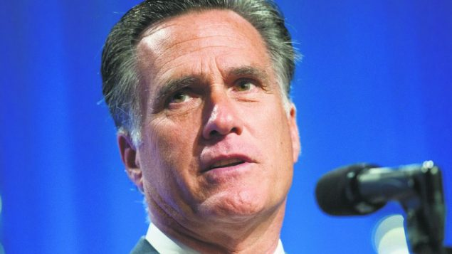 Jewish Republicans insist Romney's critical remarks and support for two-state solution are not inconsistent. getty images
