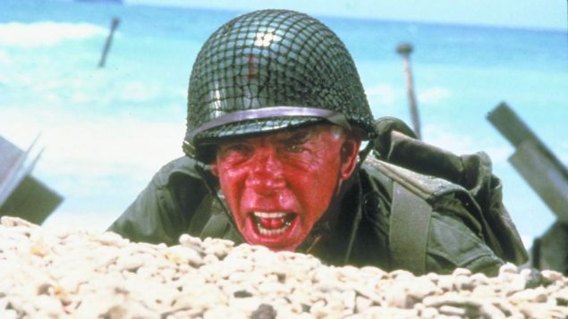 "Lee Marvin in ""The Big Red One."" Warner Brothers"
