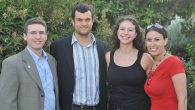 From left to right, Ariel Beery, Aharon Horowitz, Shelby Zitelman and Naomi Korb Weiss.