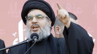 Hezbollah leader Hassan Nasrallah in one of his last public appearances in December, 2011 (photo credit: AP/Bilal Hussein)