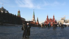 Red Square and the Kremlin in Moscow (photo credit: Anna Kaplan/Flash90)
