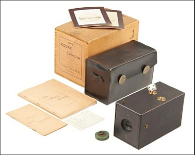Kodak camera (photo credit: CC-BY-SA Kodakcollector, Wikimedia Commons)