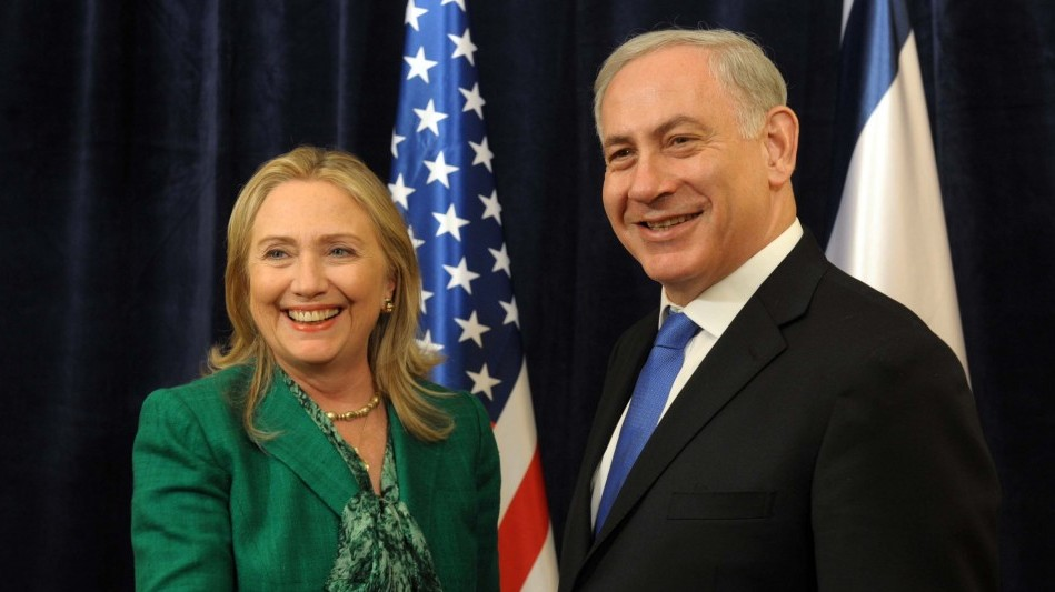 PM Netanyahu meets with US Secretary of State Clinton in September, 2012. (photo credit: PMO)