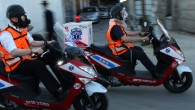 Volunteer paramedics with Union Hatzalah participate in a home front defense drill in Jerusalem on June 23, 2011. (photo credit: Nati Shohat/Flash90)