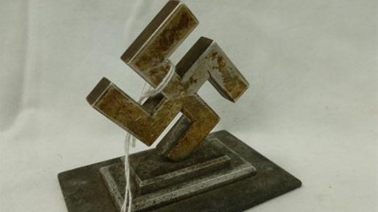 A large German Third Reich paperweight (photo credit: Courtesy, JP Humbert)