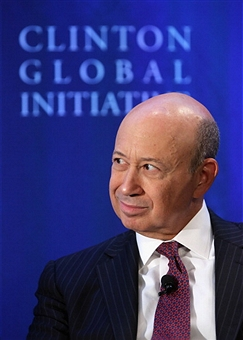 Chief Executive Officer Lloyd Blankfein of Goldman Sachs, the bank that is the subject of Greg Smith's new memoir. Getty Images