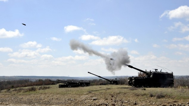 Turkish Armed Forces T-155 Frtna artillery (photo courtesy of Turkish Armed Forces)