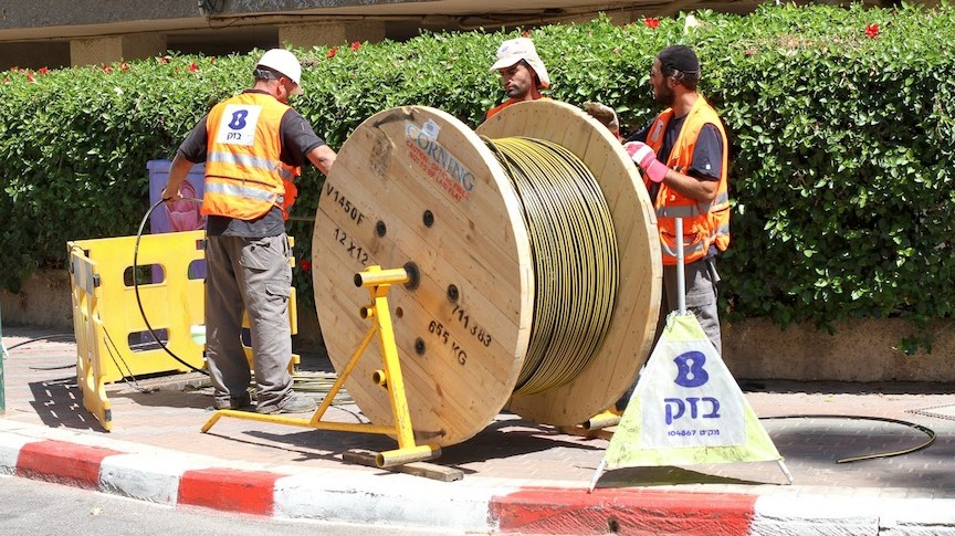 Bezeq joins fiber-optic cable fray | The Times of Israel