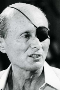 Moshe Dayan, June 1981. (photo credit: Moshe Shai/Flash90)