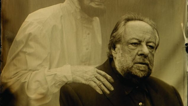 "Ricky Jay in scene from ""Deceptive Practices."""