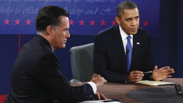 Romney and Obama both suggested they would have Israel's back at Monday's debate. Getty images