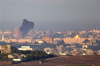Israel launches airstrikes on Gaza. Getty Images