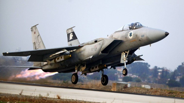 IAF fighter jets scramble over northern Israel | The Times ...
