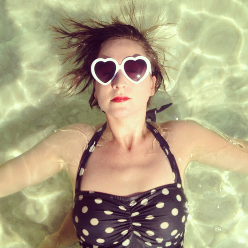 Instagramer Steph Goralnick at the Dead sea (Bex Finch)