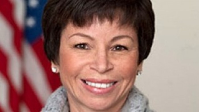 Valerie Jarrett (photo credit: Wikipedia/Joyce N. Boghosian, White House photographer)