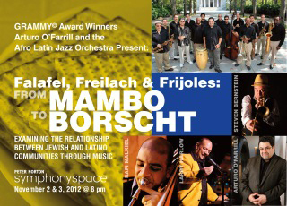 "Mambo to Borscht"" mixes Yiddish classics with Afro-Latin big bands, and Latin tunes with klezmer"